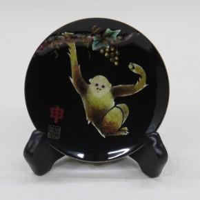 干支の飾り皿申 - コピー